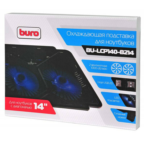 Подставка Buro BU-LCP140-B214