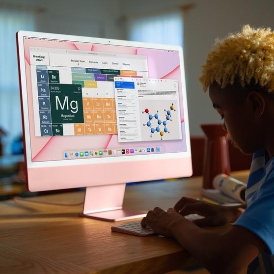 Apple iMac 2021 24-inch 256 ГБ Silver