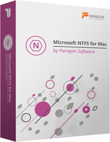 Paragon Software Group Microsoft NTFS for Mac by Paragon Software (лицензия, рус ), for Mac 15 RU 1 лицензия, PSG-1091-PEU-PL