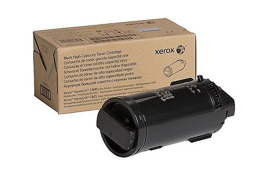 VersaLink C600/C605, черный тонер-картридж повышенной емкости