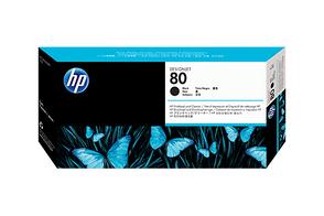 Печатающая головка черный HP Inc. 80, C4820A