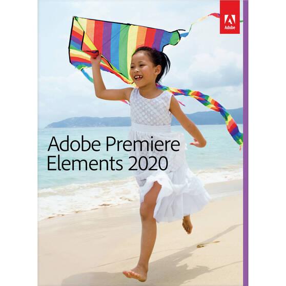 Adobe Systems Adobe Premiere Elements (лицензии Government Licenses для государственных организаций), версия 2020 Multiple Platforms International English AOO License 1 User TLP Level, 65299193AF01A00