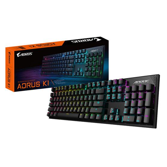 Клавиатура AORUS AORUS K1, цвет черный