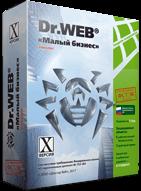Доктор Веб Комплект Dr Web «Малый бизнес», Лицензия на 1 год (коробочная версия)