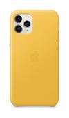 Apple iPhone 11 Pro Leather Case - Meyer Lemon