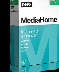 Nero MediaHome 2020 (лицензия ESD), EMEA-11700000/1445