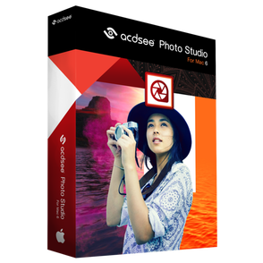 ACD Systems International ACDSee Photo Studio for Mac 6 (подписка Academic Software Assurance на 1 год, K-12 Computer Lab License), 25 Student Devices, ACDPSM06MAADKEEN