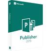 Microsoft Office Publisher 2019.