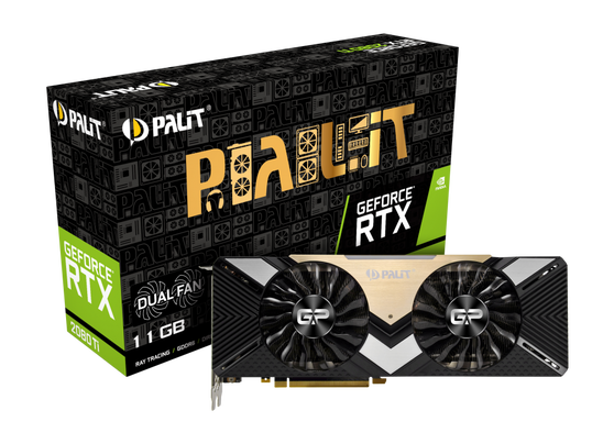 Видеокарта Palit GeForce RTX 2080 Ti 11 ΓБ Retail