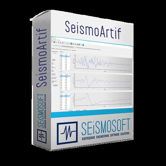 Seismosoft SeismoArtif 2020 (лицензия), Лицензия SeismoArtif 2020 + USB Dongle Key