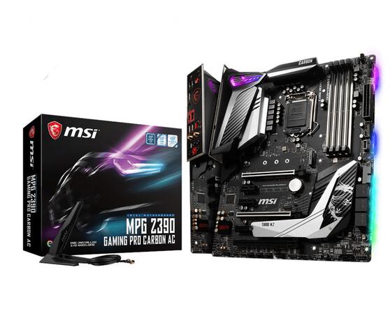 Материнская плата MSI Intel Z390 MPG Z390 GAMING PRO CARBON AC