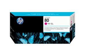 Печатающая головка пурпурный HP Inc. 80, C4822A