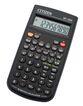 Калькулятор научный Citizen SR-135N 8+2 разряда черный 128 функций питание от батареи фото