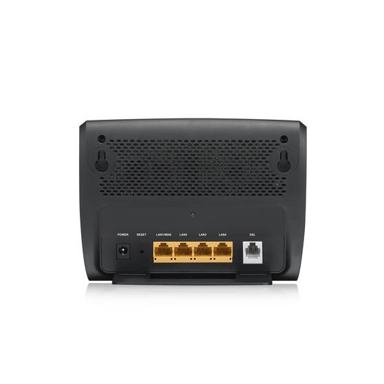ZYXEL AMG1302-T11C Wireless N ADSL2+ 4-port Gateway ADSL2+ over POTS gateway, 4 FE LAN ports, WiFi N300, EU STD version