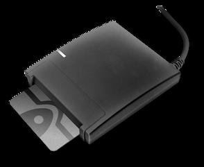 Аладдин Р.Д. Смарт-карт ридер JCR721 в индивидуальной упаковке, чёрный, JCR721-0ABRP