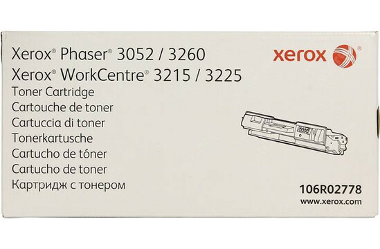 Тонер-картридж для Phaser 3052, 3260 / WorkCentre 3215, 3225