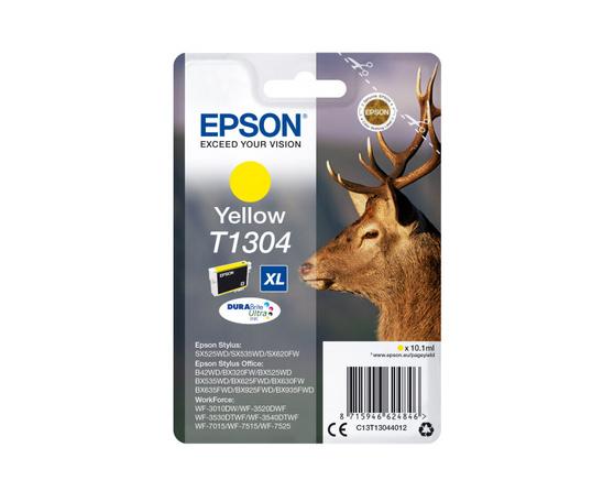 Картридж желтый Epson C13T13044012