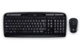 Клавиатура+мышь Logitech MK330 920-003995, цвет черный