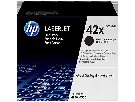 Картридж черный HP Inc. Q5942XD