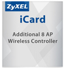 ZYXEL Zyxel SSL VPN (License to increase the number of managed access points for UAG/USG/ZyWALL), 8 devices (8 AP)