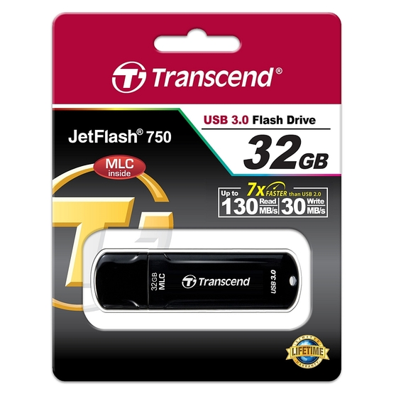 Флешка TRANSCEND JetFlash 750 32GB