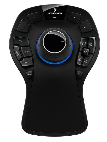 3D манипулятор 3DCONNEXION SpaceMouse Pro Wireless 3DX-700049