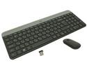 Клавиатура+мышь Logitech MK470 920-009206, цвет темно-серый