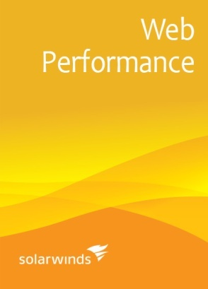 SolarWinds Web Performance Monitor WPM100 (up to 100 [recordings x locations]) - License with 1st-Year Maintenance