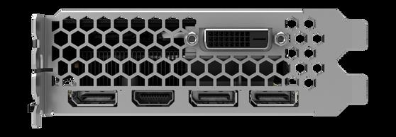 Видеокарта Palit GeForce GTX 1060 6 ΓБ Retail
