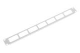 Купить Кабельный органайзер Горизонтальный ЦМО ГКО-О-1 окна 1U шир.:19