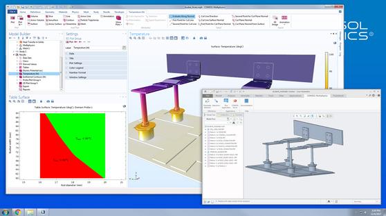 Модуль «LiveLink™ for PTC® Creo® Parametric™» для программы COMSOL Multiphysics®