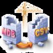 WhiteTown MDB (Access) to CSV Converter.