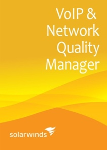 SolarWinds VoIP and Network Quality Manager IP SLA X, IP Phone X (unlimited IP SLA source devices, unlimited IP phones) - License with 1st-Year Maintenance