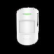 Купить AJAX Комбинированный датчик движения и разбития стекла, Белый | CombiProtect Combined motion and glass break detector,