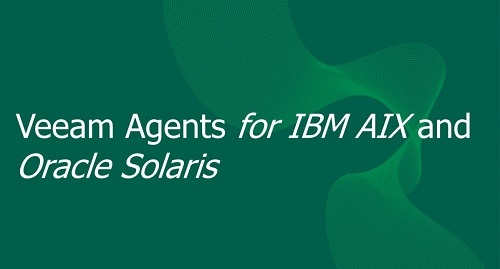 Veeam Agent for IBM AIX and Oracle Solaris