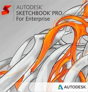 Autodesk SketchBook Pro for Enterprise (продление электронной версии, GEN), сетевая лицензия на 2 года