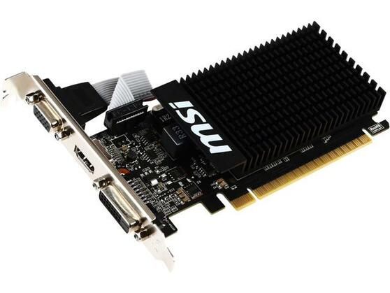 Видеокарта MSI GeForce GT 710 2 ΓБ Retail
