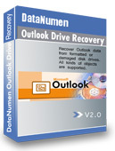 DataNumen Outlook Drive Recovery 2.0