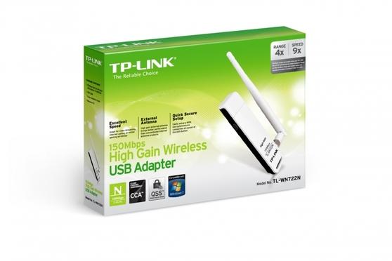 Адаптер Wi-Fi TP-LINK TL-WN722N