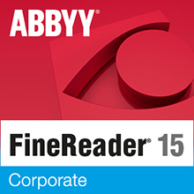 ABBYY FineReader 15 Corporate (лицензия Academic на 1 год, Per Seat), AF15-3P4W01-102/AD