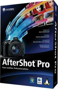 Corel Corporation Corel AfterShot Pro (электронная лицензия 3 ML ESD), цена за 1 лицензию, ESDASP3MLPC