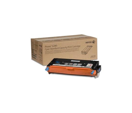 Phaser 6280, принт-картридж голубой Phaser h6280
