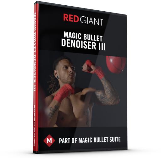 Red Giant Magic Bullet Denoiser III