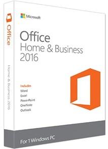 Microsoft Office Home and Business 2016 (мультиязычная версия)