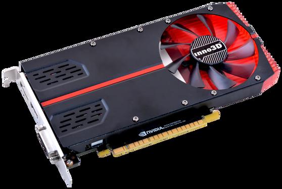 Видеокарта Inno3D GeForce GTX 1050Ti 4 ΓБ Retail