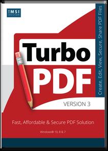 IMSI/Design, LLC TurboPDF (лицензия), версия v4