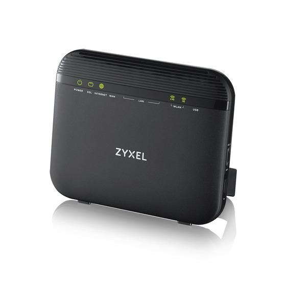 ZYXEL VMG3625-T20A Dual Band Wireless AC/N VDSL2 Combo WAN Gigabit Gateway VDSL2 profile 17a over POTS Gateway, GbE WAN, 4GbE LAN, 1 USB 2.0, WiFi 11n
