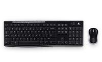 Клавиатура+мышь Logitech MK270 920-004518, цвет черный