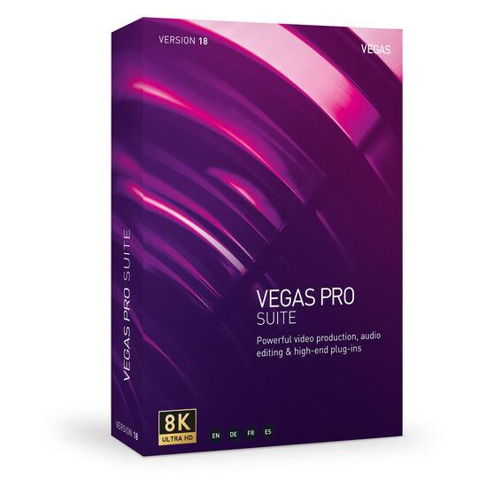 Magix VEGAS Professional 18 Suite (лицензия ESD)