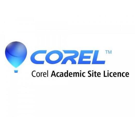 Corel Academic Site License Premium Level 2 Three Years < 500 Students